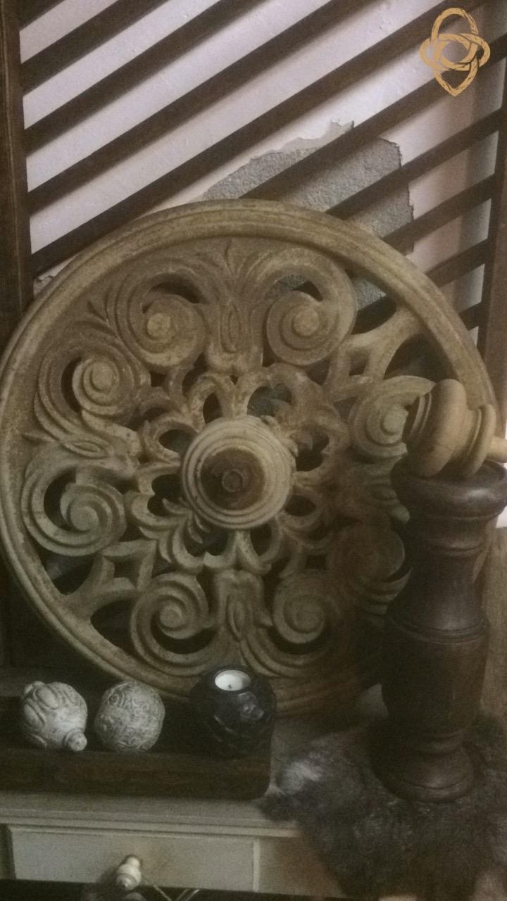 Fonkelnieuw Ornament, gietijzer - het-onderhuis IY-28